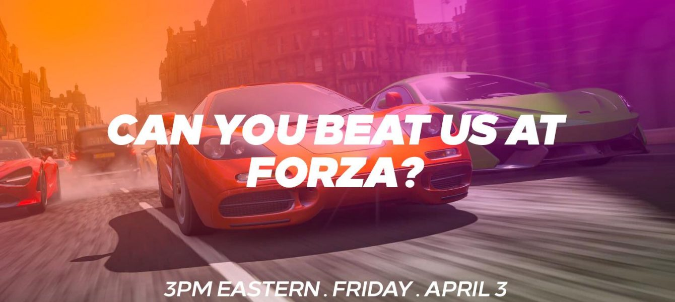 Join Us in Another Forza Friday Livestream April 3