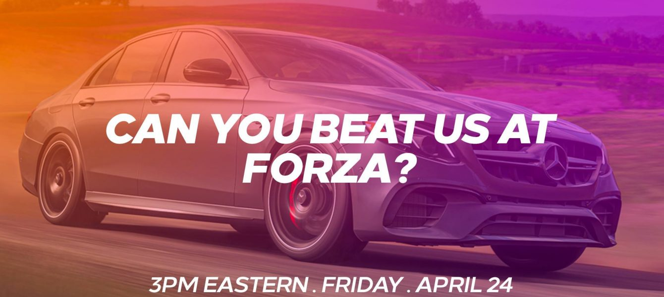 We're Going Racing in Forza Today at 3PM