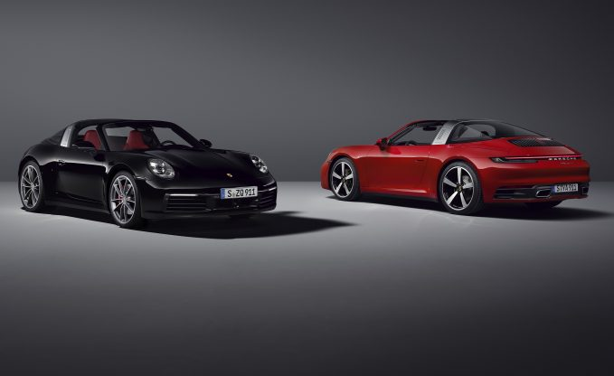 2021 Porche 911 Targa 4 and 4S Get More Power And Better Kit
