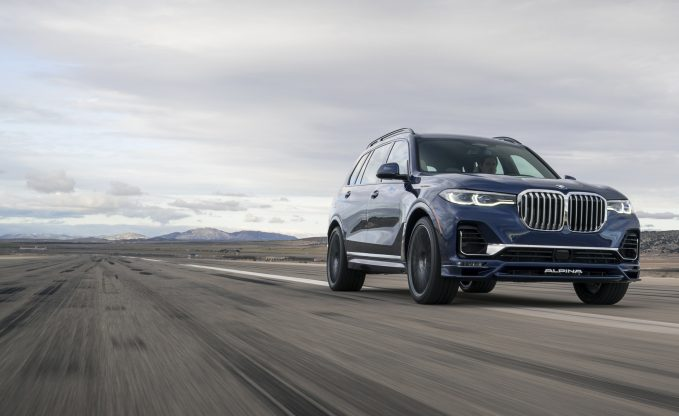 2021 Alpina XB7 Arrives In US With 612 HP And A $142,295 Pricetag