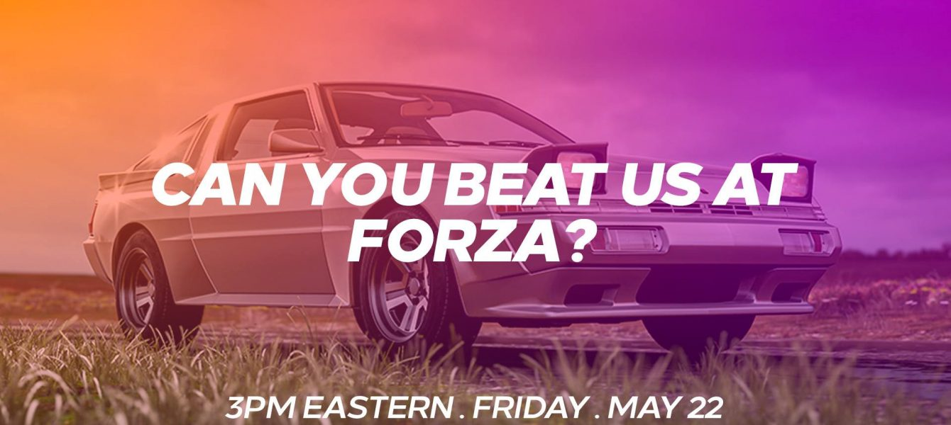 Take on Winter in Forza Horizon 4 With Us Today at 3PM