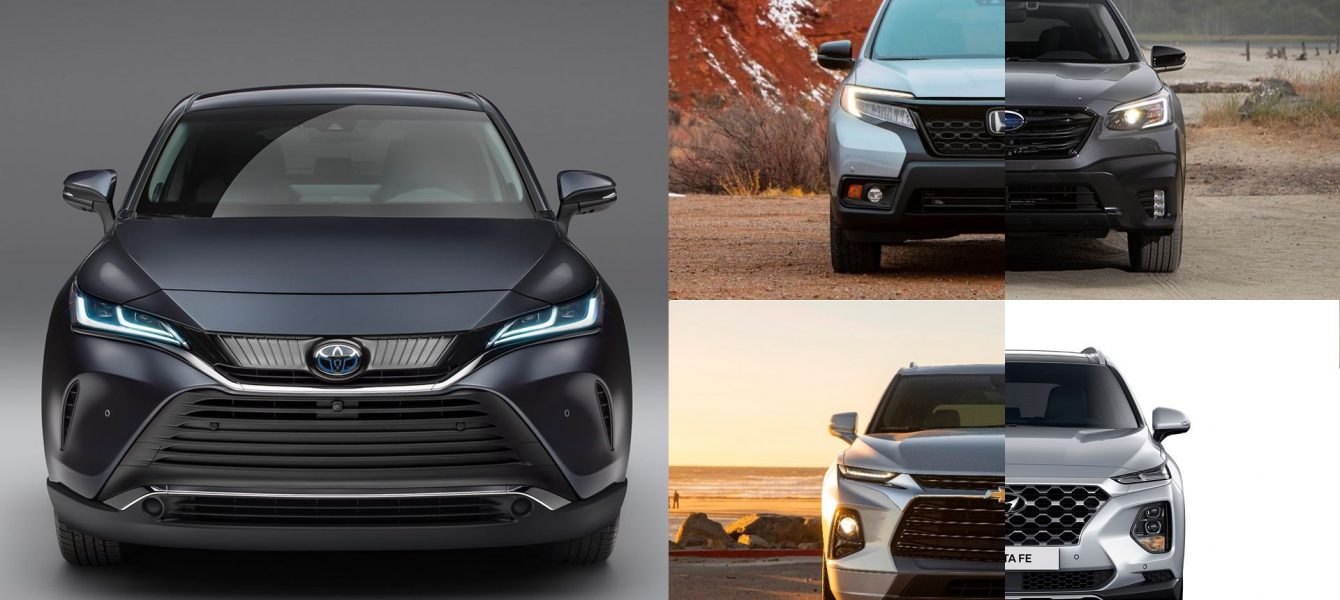 New Toyota Venza vs Honda Passport and Other Rivals, How Does it Stack Up?