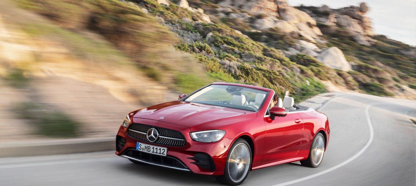 2021 Mercedes-Benz E-Class Coupe and Cabrio Gain Mild Hybrid Systems