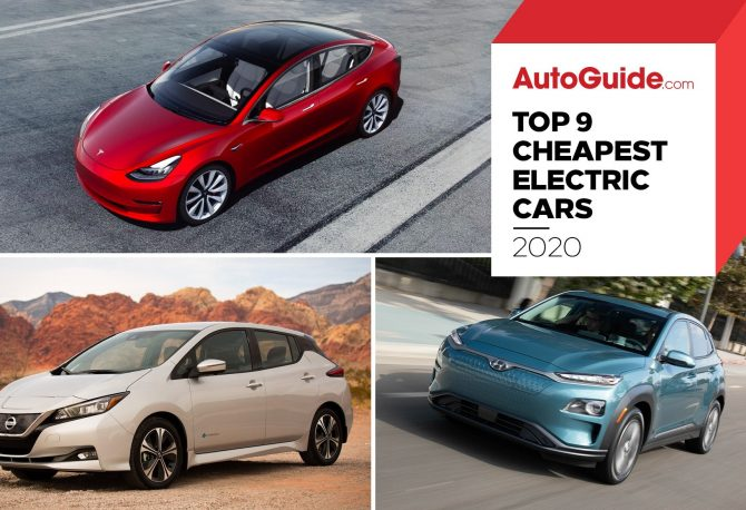 Top 9 Cheapest Electric Cars To Buy