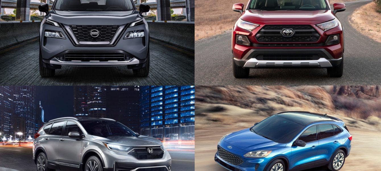 Nissan Rogue vs Honda CR-V vs Toyota RAV4 vs Ford Escape: How Does It Stack up?
