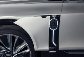 2021 Cadillac Lyriq EV Teases its Charging Port Before August 6 Debut