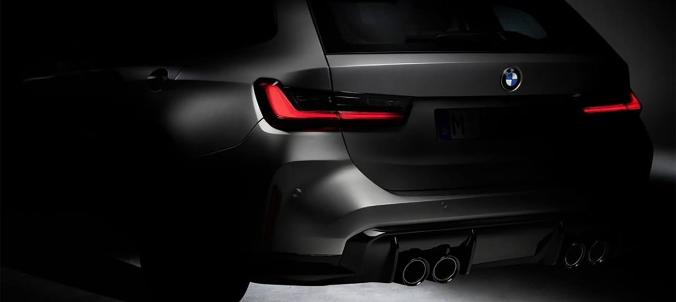 BMW Teases 2022 M3 For First Time … and it's a Wagon
