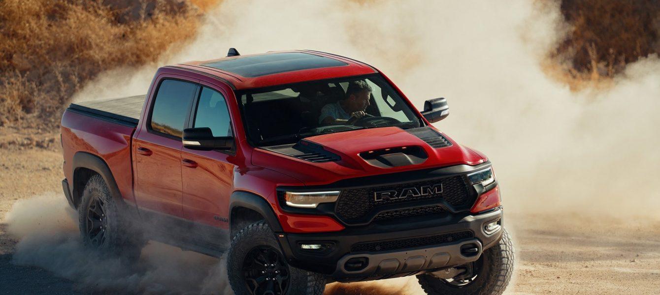 2021 Ram 1500 TRX Revealed: 702-HP Hellcat-Powered Raptor-Stomper