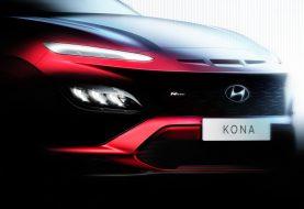 Hyundai Drops 2021 Kona Teaser, Confirming N Line Model