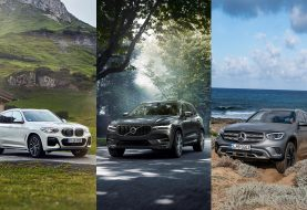 Volvo XC60 vs Mercedes-Benz GLC vs BMW X3