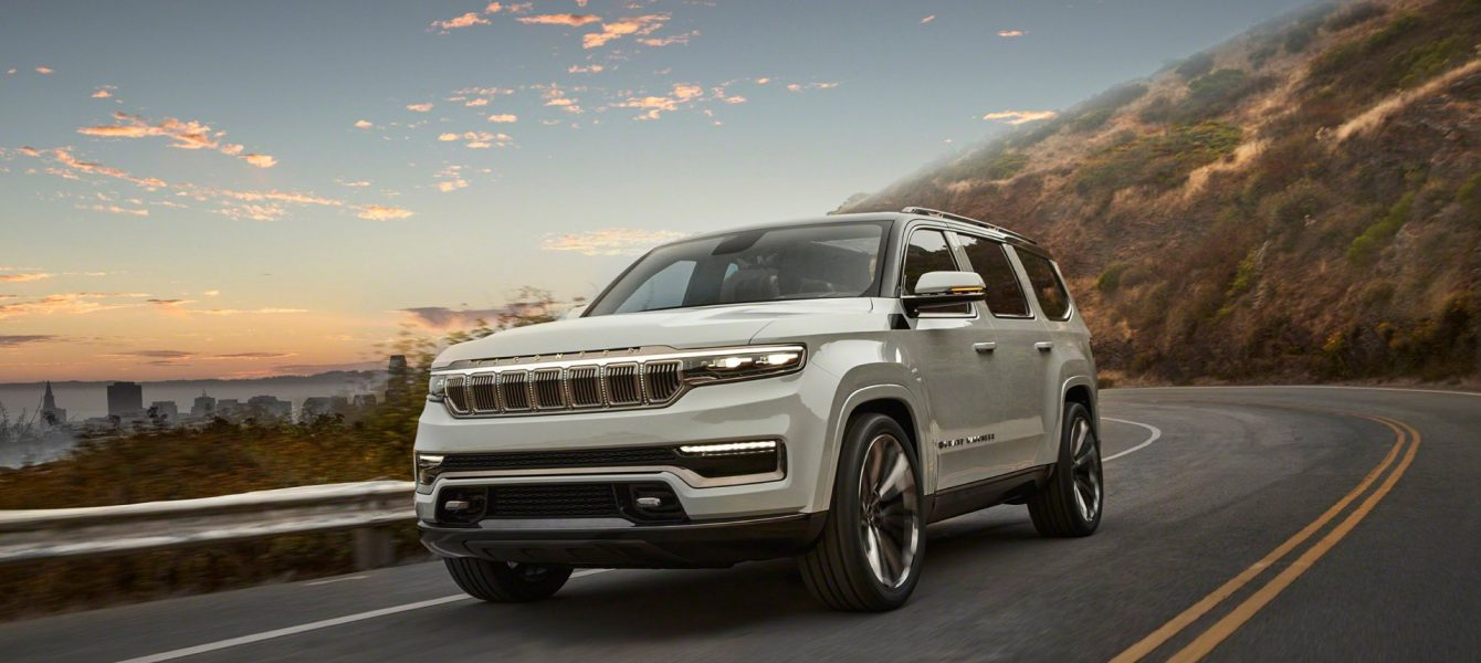 Jeep Grand Wagoneer Concept Previews a Whole Range of American Luxury
