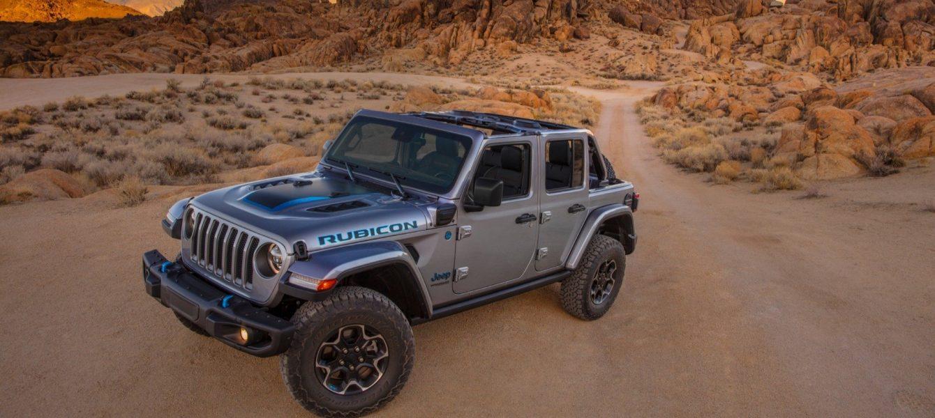 2021 Jeep Wrangler 4xe is a 375-HP Plug-In Hybrid Range-Topper