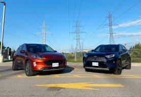 2020 Ford Escape Hybrid vs 2020 Toyota RAV4 Hybrid