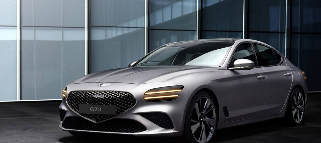 2022 Genesis G70 Adopts the Brand's Strong Family Looks