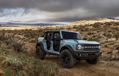 Ford Extends Bronco Sasquatch Package to Manual Transmission